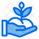 Hand Planting Spring Icon