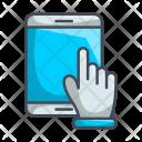 Hand Tech Ipad Icon