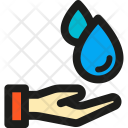 Hand Water Icon