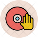 Hand Sign Cd Icon