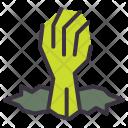 Hand Creepy Dead Icon