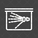 Hand X Ray Icon