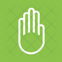 Hand Sign Gesture Icon