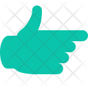 Hand Finger Direction Icon