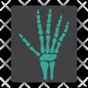 Hand Xray X Icon