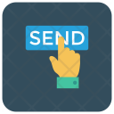 Hand Send Onlinepayment Icon