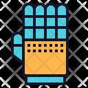 Hand Glove Robot Icon