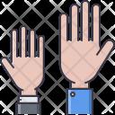 Hand Student School Icon