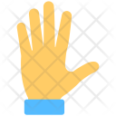 Full Hand Five Icon