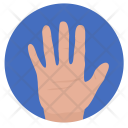 Hand Gesture Hello Icon