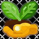 Hand Leaf Farm Icon