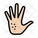 Hand Allergy Infection Icon