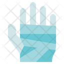 Physiotherapy Hand Bandage Bandaged Icon