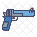 Hand Cannon Pistol Gun Icon