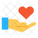 Hand Care Save Icon
