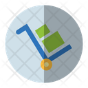 Box Cart Handcart Delivery Icon