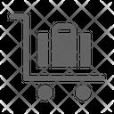 Cart Trolley Luggage Icon
