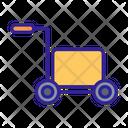 Cart Cargo Box Icon