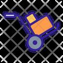 Trolley Box Pushcart Icon