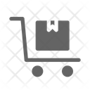 Package Trolley Logistic Icon