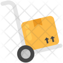 Hand Truck Cart Icon