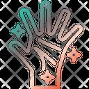 Hand Clean Gesturing Washing Symbol Icon