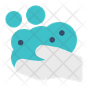 Cleaning Wash Hand Icon