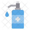 Alcohol Cleaning Gel Icon