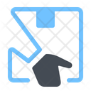 Hand Delivery Courier Icon