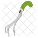 Hand Cultivator Tool Icon
