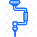 Hand Drill Tool Icon