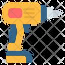 Drill Hand Drill Construction Icon