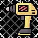 Hand Drill Driller Drilling Icon