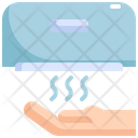 Dryer Hand Clean Icon