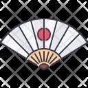 Hand Fan Japan Icon