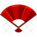 Hand Fan Traditional Decoration Icon