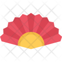 Hand Fan Country Icon