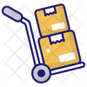 Hand Forklift Icon