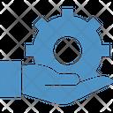 Hand Gear Icon