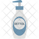 Cleaner Hand Gel Hand Sanitizer Icon