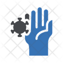 Hand Germs Bacteria Icon