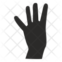 Four Fingers Hand Icon