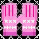 Glove Winter Christmas Icon