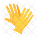 Hand Gloves Construction Gloves Clothing Icon
