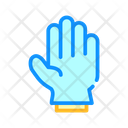 Protection Glove Color Icon