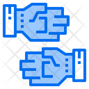 Gloves Construction Icon