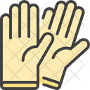 Gloves Hand Rubber Icon