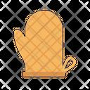 Mitten Glove Kitchen Icon