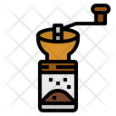 Grinder Hand Manual Icon