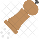 Pepper Mill Hand Icon
